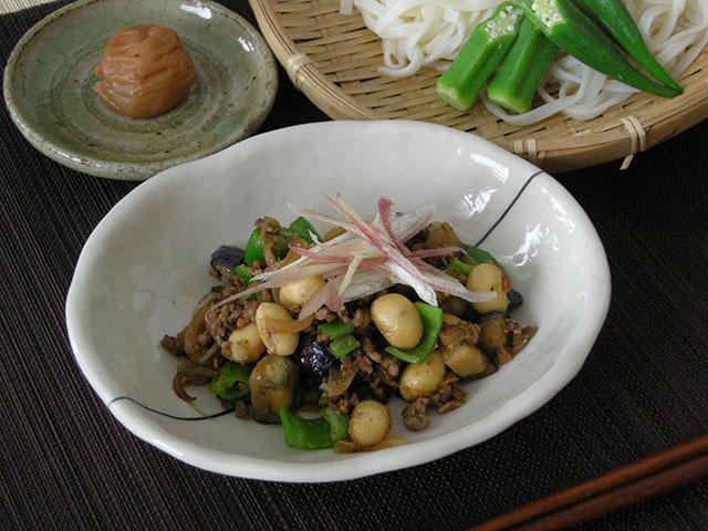 たまふくら大豆の夏野菜じゃじゃ麺