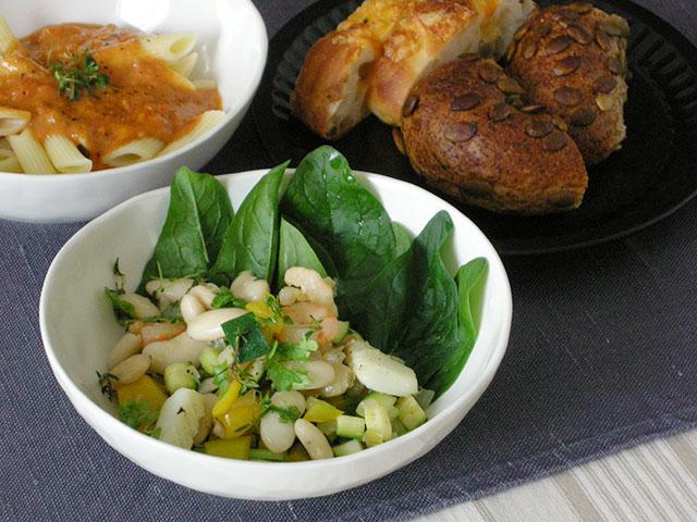 大福豆の粒つぶソテー